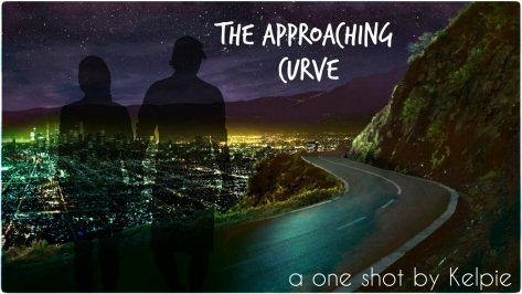 The approaching curve banner